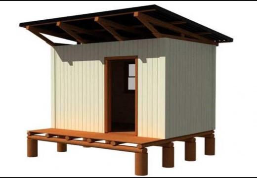 Hogares eco friendly: crean viviendas hechas con madera de eucalipto