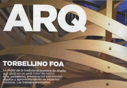 Coleccionable sobre construcción con bastidores de madera Clarín ARQ.