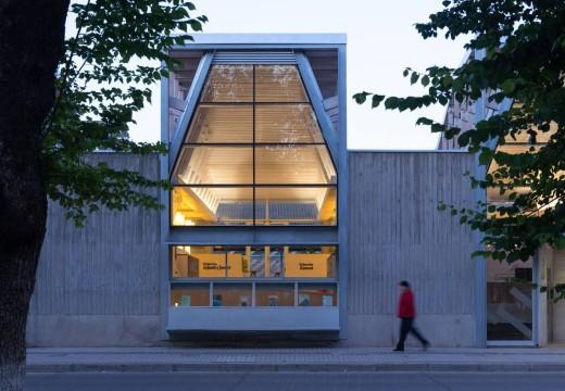 Arquitectura en Madera: Nueva biblioteca sustentable en Chile deslumbra por su diseño y funcionalidad.