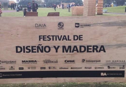 Más de 15 mil personas visitaron el Festival de Diseño y Madera en Buenos Aires