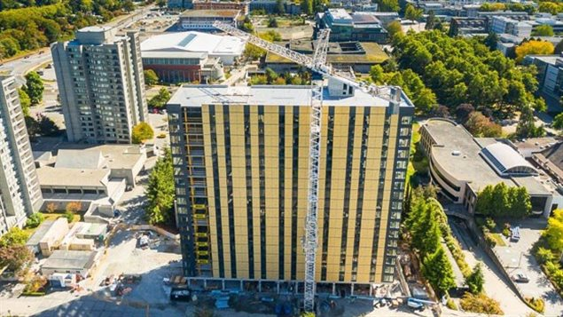 Canadá: inauguran en Vancouver el edificio de madera más alto del mundo.
