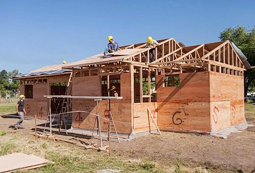 Cursos anuales sobre construcción de viviendas con madera y carpintería de INTI Maderas