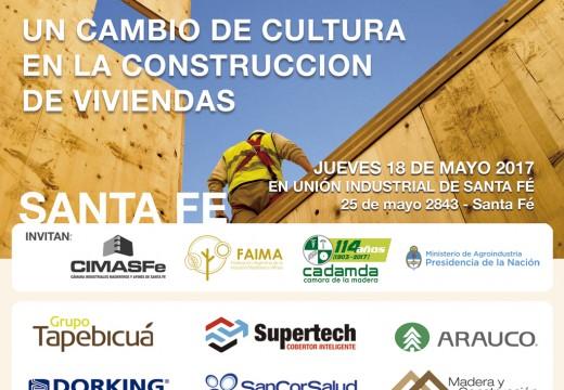 SANTA FÉ – Nuevo Seminario de Construcción con Madera y Diseño