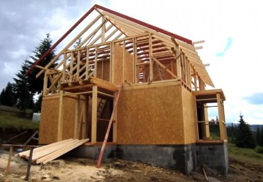 Patagonia argentina: video corto sobre montaje de vivienda premium con estructura de entramado de madera