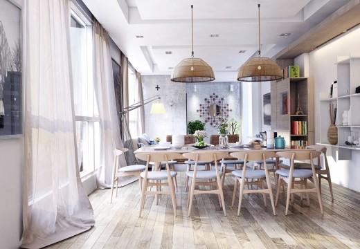 Madera al natural. La nueva tendencia en decoración de interiores.