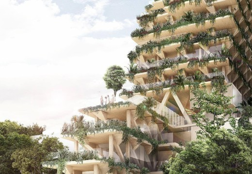 Brasil: tendrá su edificio sustentable de madera de 13 pisos