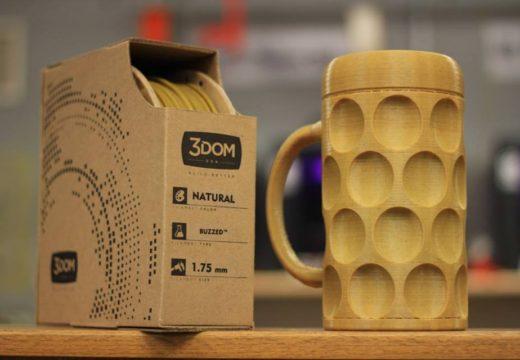La tecnología de impresión 3D, adopta la madera como material y desafía los límites