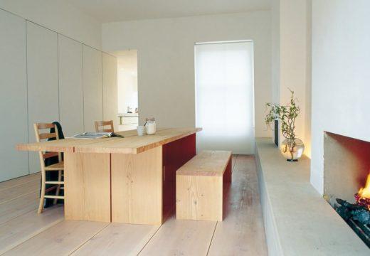 Madera al natural y estilo minimalista, refacción de departamento en Londres de 1920 al siglo XXI