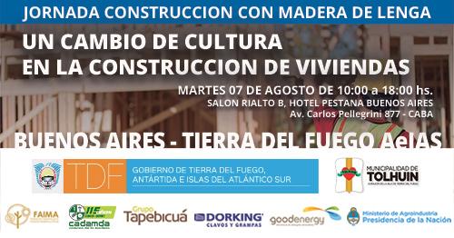 Jornada sobre Construcción con Madera en Buenos Aires – 7 de agosto de 2018