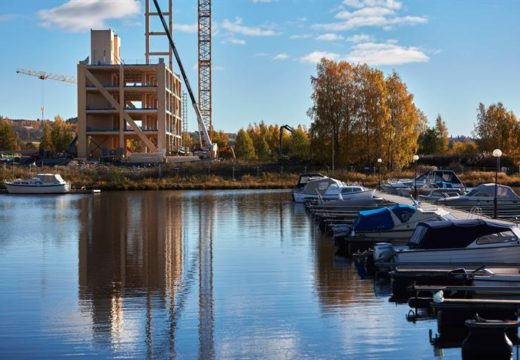 Noruega construye la torre de madera más alta del mundo. 18 pisos y 80 mts. de altura