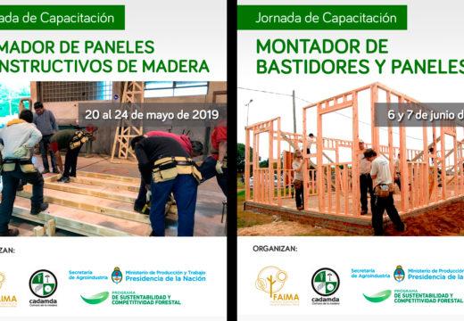Jornadas Gratuitas de Capacitación sobre Construcción con Madera – Mayo y Junio 2019