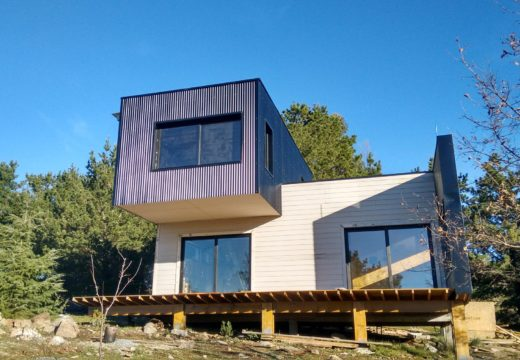 """Espectacular casa de estilo """"Vivienda Bioclimática"""" en Tandil, en la Provincia de Buenos Aires."""