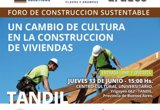 FALTAN 2 DÍAS!! Este jueves 13 de junio, en Tandil: CADAMDA invita al FORO DE CONSTRUCCIÓN SUSTENTABLE