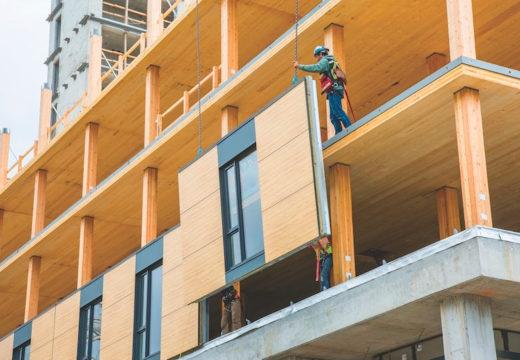 Construcción en altura: El auge de los edificios y rascacielos de madera.