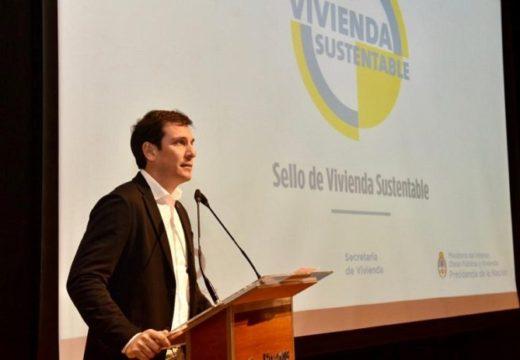 Se lanzó el sello de vivienda sustentable