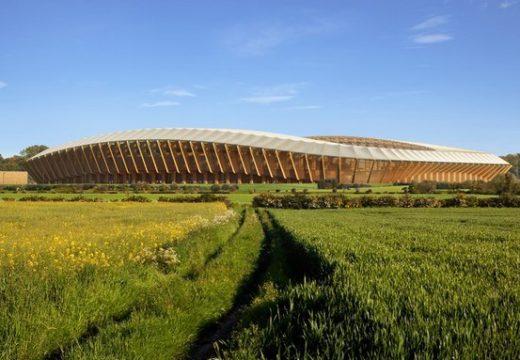 Inglaterra: construirán el primer estadio de fútbol de madera del mundo y formará parte de un Parque Ecológico