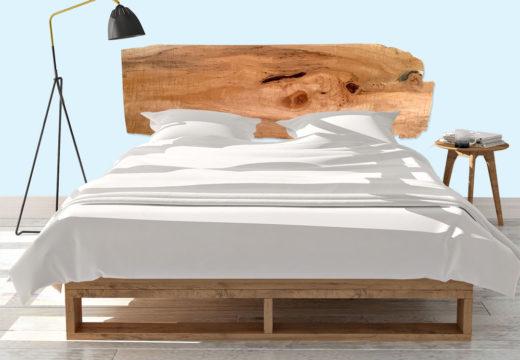 Soñar con la calidez de la madera: un material vivo para descubrir en diversos estilos de respaldos de cama