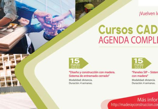 Cursos Online CADAMDA – AGENDA 2021