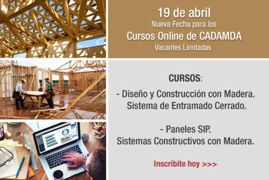 Nueva fecha para los Cursos ONLINE CADAMDA – 19 de abril 2021