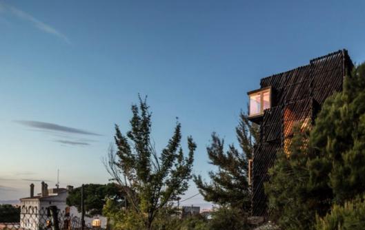 Voxel, la casa de madera autosuficiente para confinamientos ideada por estudiantes españoles