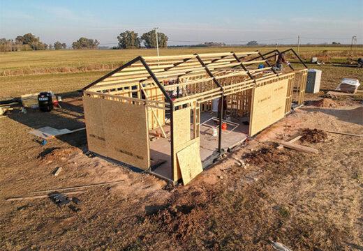 Cómo construir una casa de 75 metros cuadrados, económica y lista para habitar en sólo 6 semanas