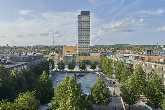 Sara Kulturhus: el nuevo centro cultural de madera en Suecia
