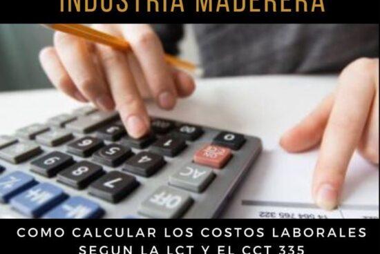 Costos Laborales de la Industria Maderera – Encuentro Virtual 23/08/2021